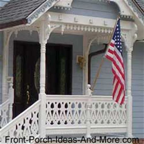 front porch railings options designs  installation tips