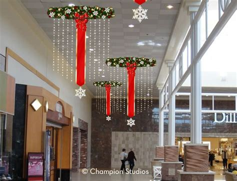 ideas  commercial christmas decorations