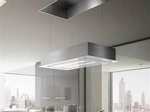 Hotte De Cuisine Design : la hotte design s affiche en cuisine elle d coration ~ Premium-room.com Idées de Décoration