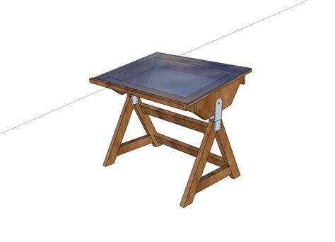 woodworking plans  drafting desk plans wooden plans