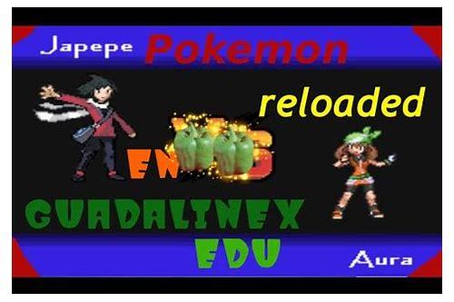 descargar pokemon reloaded para pc gratis