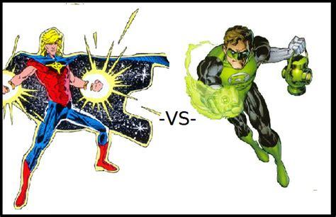 quasar vs green lantern heromachine character portrait creator