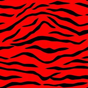 Red Black Seamless Tiger Stripes Free Stock Photo - Public ...