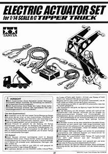 User Manuals Of Tamiya 56545 1  14 Rc Scale Tipper Truck