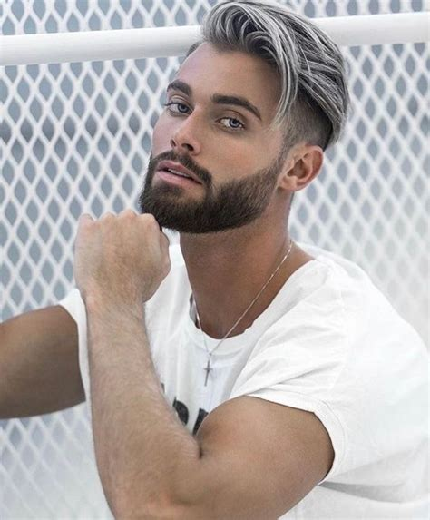 Is The Gray Hair For Men Trend Here To Stay 21 Photos Of