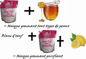 Gommage Maison Corps : soin visage maison peau grasse ~ Nature-et-papiers.com Idées de Décoration