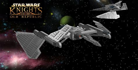 lego ideas star wars sith fighter knights of the old