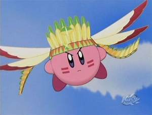 Wing Kirby • Kirby: Right Back At Ya! • Absolute Anime