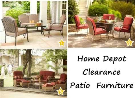 home depot outdoor furniture clearance on furniture