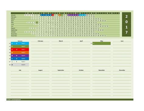 excel calendar template 2017 and 2018 calendars excel templates