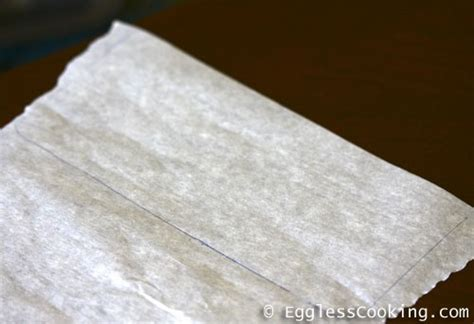 pan  parchment paper eggless cooking