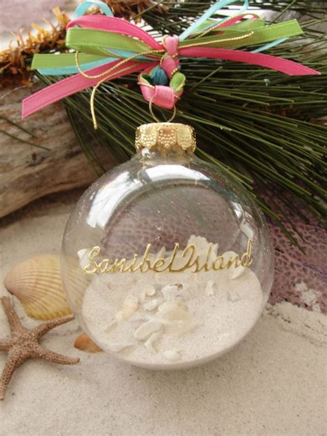 Sanibel Island Ornament Favors Beach Wedding Destination