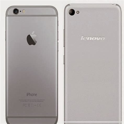 phones that look like iphone lenovo introduces android phone that looks like iphone 6