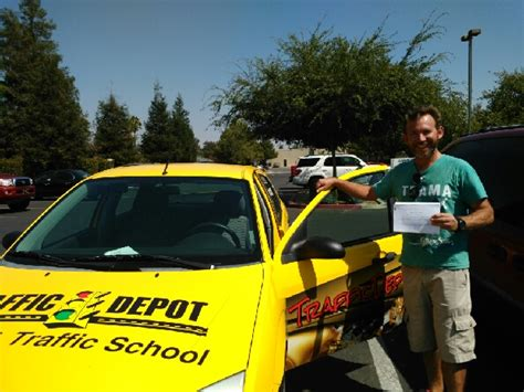 Office Depot Hours Visalia by Traffic Depot Inc Driving And Traffic School