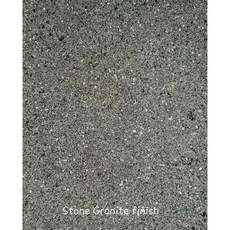 granite stone finish texture paint packaging size  kg