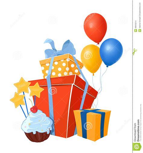 Birthday Images Birthday Design Elements Stock Vector Illustration Of