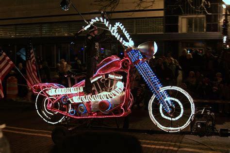 christmas motorcycle lights christmas pinterest