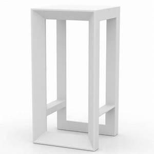 Table De Bar Blanche : table haute de bar frame vondom blanche ~ Voncanada.com Idées de Décoration