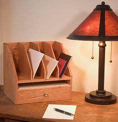 fine woodworking taunton  desk organizer plans