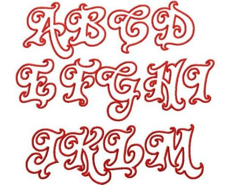 bubble letter cut outs big letters   alphabet