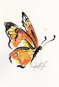 Monarch Butterfly Painting Abstract | www.imgkid.com - The ...