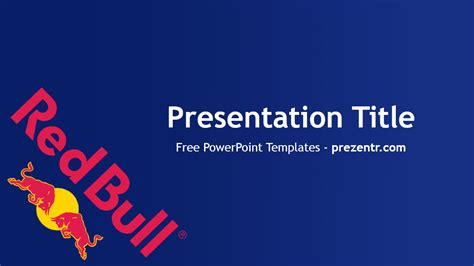 red bull powerpoint template prezentr powerpoint
