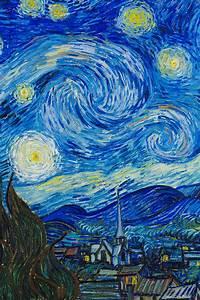 Detailsdetales The Starry Night 1889 Vincent Van Gogh