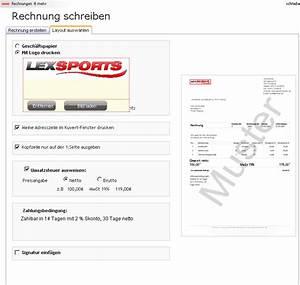 Blau De Rechnung Online : rechnung online schreiben und ausdrucken kostenlos ~ Themetempest.com Abrechnung