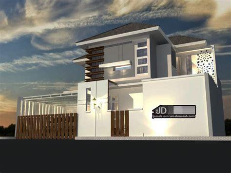 desain rumah mewah modern tropis bapak ibnu alfarobi