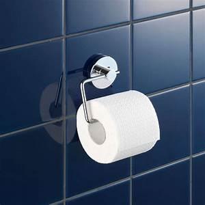 Support Papier Toilette Mural : d rouleur mural papier toilette vacuum loc milazzo wenko ~ Melissatoandfro.com Idées de Décoration