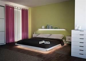 Bett Mit Led Beleuchtung 160x200 : indirekte beleuchtung ~ Whattoseeinmadrid.com Haus und Dekorationen