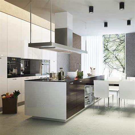 hotte pour ilot central hottes 238 lot pour des cuisines design et fonctionnelles