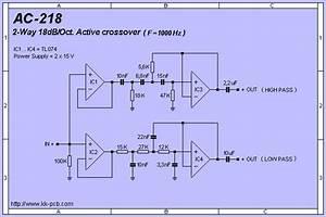2 Oct  Active Crossover Pcb  Com Imagens