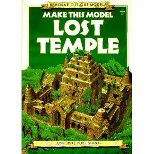 Make This Model Lost Temple (Usborne Cut-Out Models), 1991