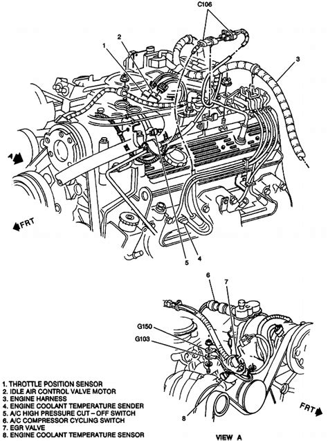 2003 Tahoe Vacuum Diagram by I A 97 Chevy Silverado 4x4 And When I Take It