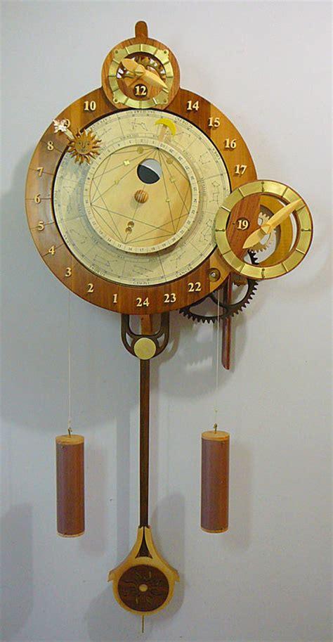 wooden gear clock genesis design woodworking plans by clayton boyer