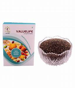 Valuelife Chia Seeds 1 Kg  Buy Valuelife Chia Seeds 1 Kg At Best Prices In India