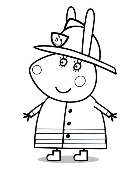 Peppa Pig Free Coloring Pages Coloring Home