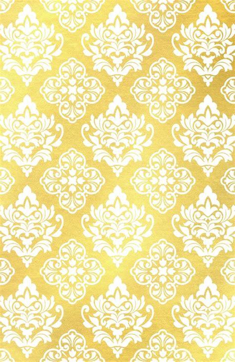 buy gold foil damask pattern gold damask art print