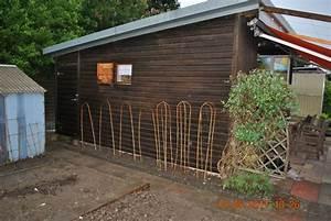 Gartenhaus Streichen Lasur : gartenhaus mit lein l streichen my blog ~ Michelbontemps.com Haus und Dekorationen