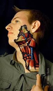 Learn anatomy through Body Painting Ufunk net