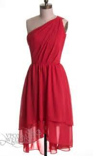 crimson bridesmaid dresses one shoulder bridesmaid dress dvw0034 vponsale wedding custom dresses