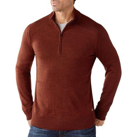 mens half zip sweater smartwool 39 s kiva ridge half zip sweater fontana sports