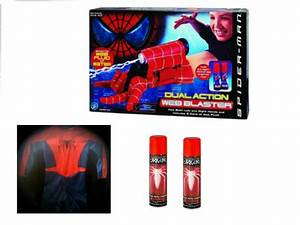 Amazing Spider-Man Web Shooter + Costume (2004 Movie ...