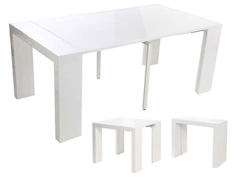 Pratique La Table Console Extensible Déconome