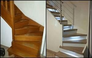 renover un escalier peindre sans poncer With peindre rampe escalier bois 0 comment repeindre facilement un escalier en bois