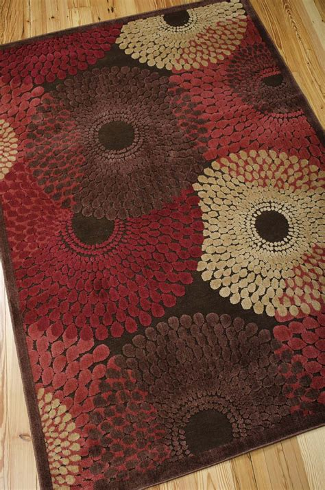 Graphic Rug - nourison graphic illusions gil04 brown rug
