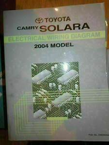 2004 Toyota Prius Hybrid Electrical Wiring Diagram Manual