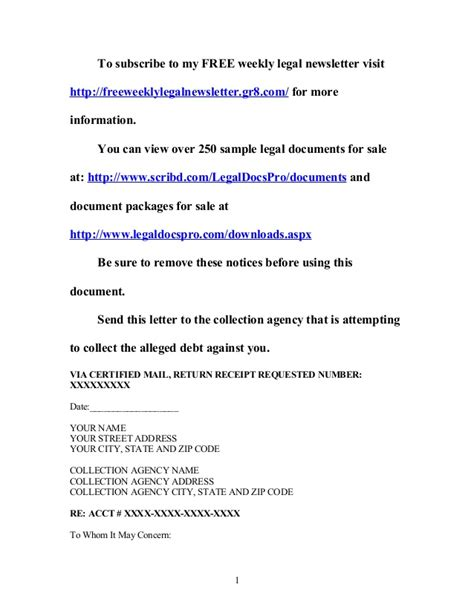 sle cease and desist letter cease and desist collection letter template 28 images