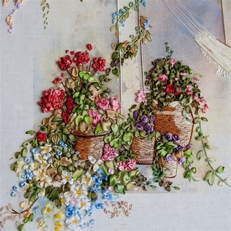silk ribbon embroidery instructions ribbon embroidery
